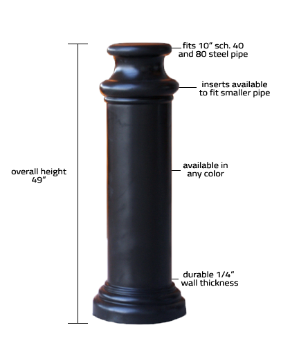10_Pawn Decorative Bollard