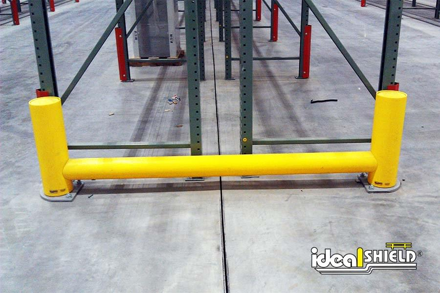 Warehouse Rack Guard Protection System