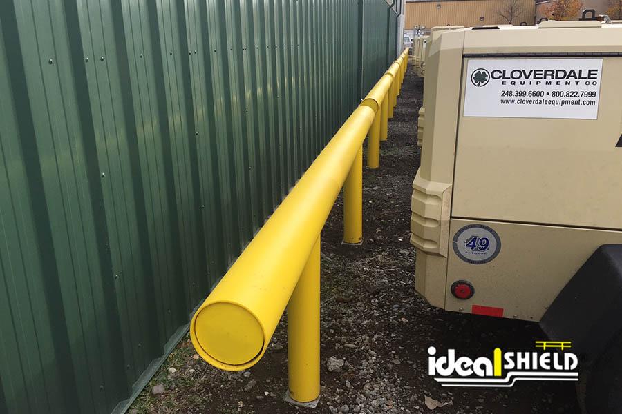 1 Line Heavy Duty Guardrail