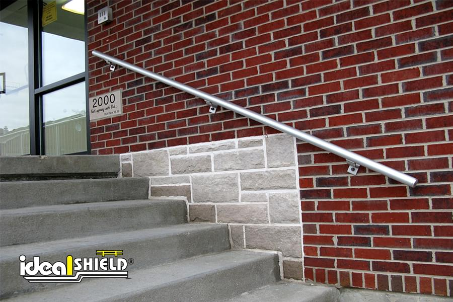 Ideal Shield's Aluminum Railing System for stairs