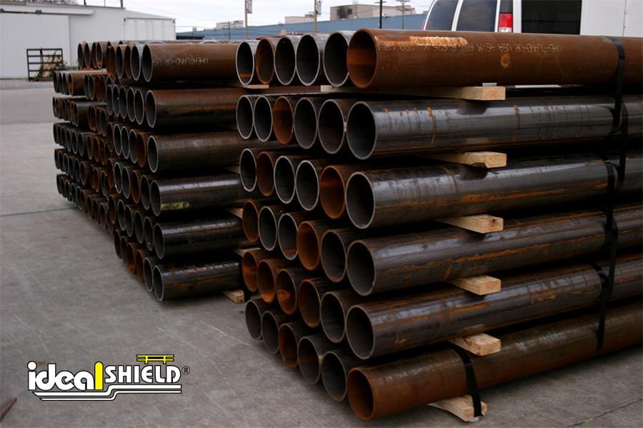 Ideal Shield's Steel Pipe Bollards in Stock