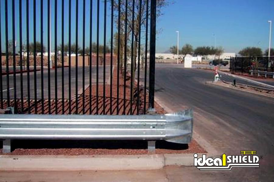 Ideal Shield's galvanized highway guardrail and posts