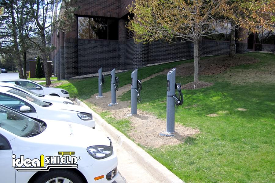 Ideal Shield's Electric Vehicle Charging Stations
