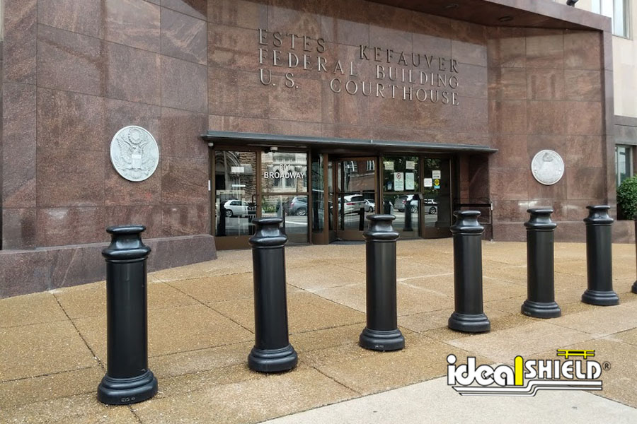 Courthouse Bollard Covers