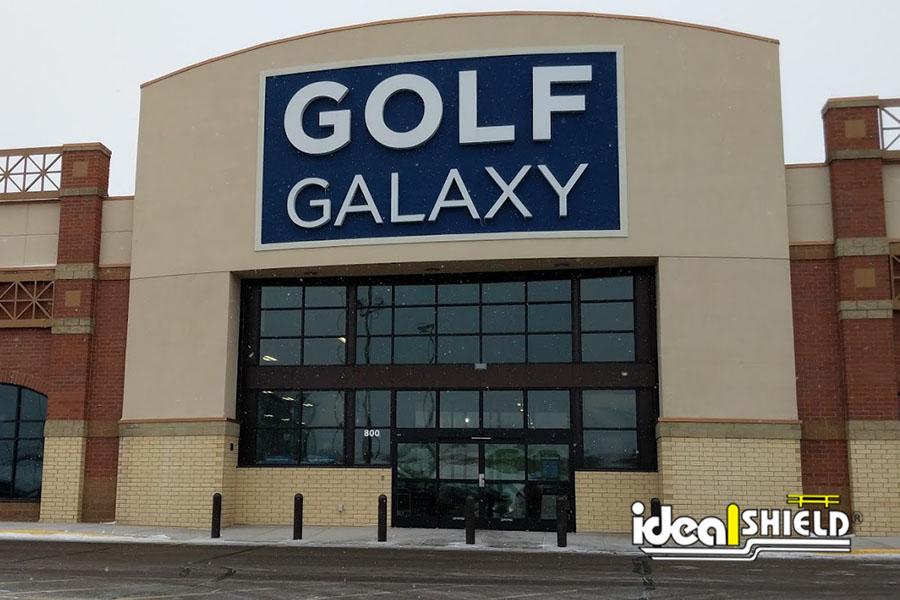 "Ideal Shield's 1/4"" Bollard Covers at Golf Galaxy"