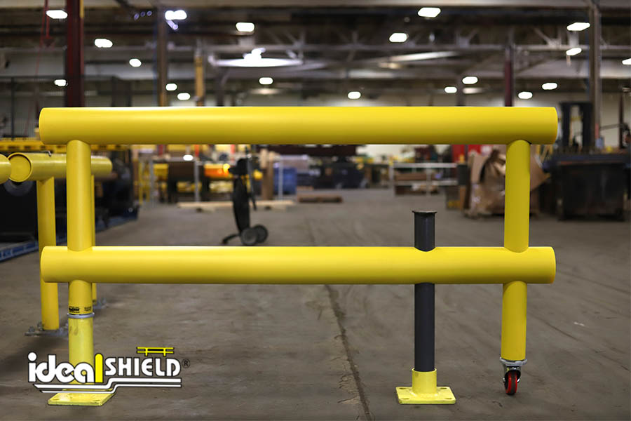 Ideal Shield's Custom Guardrail with Gate