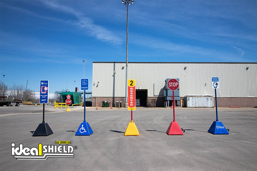 Ideal Shield Pyramid Sign Bases