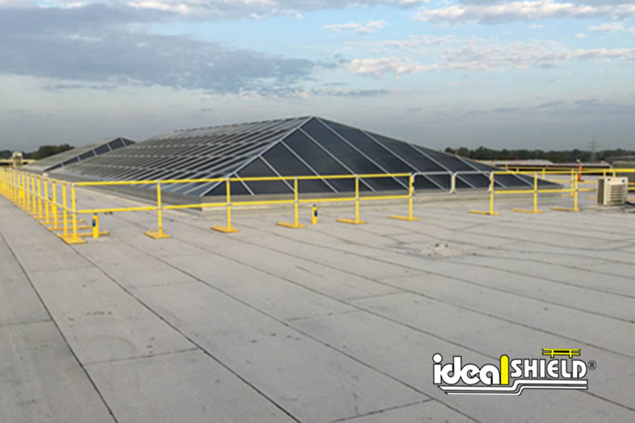 Ideal Shield Yellow Roof Rail
