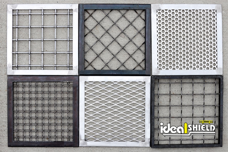 Ideal Shield's Infill Panel Options for Handrail and Wall Guards