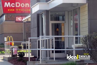 McDonalds Aluminum Handrail