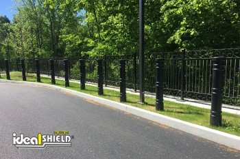 "Ideal Shield's 6"" Metro Bollard Covers"