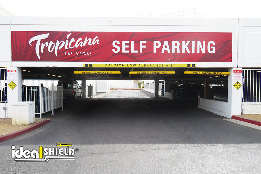 Ideal Shield Clearance Bar at Tropicana Field