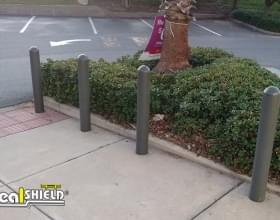 "Ideal Shield's 1/4"" Bollard Covers at Walgreen's"
