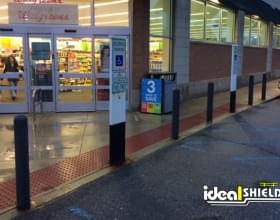 "Ideal Shield's grey 1/4"" Bollard Cover at Walgreens Pharmacy"