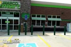 "Green 1/4"" Retail Bollard Sleeve"
