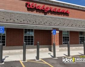 Ideal Shield's Bollard Covers and Bollard Sign Systems at Walgreens