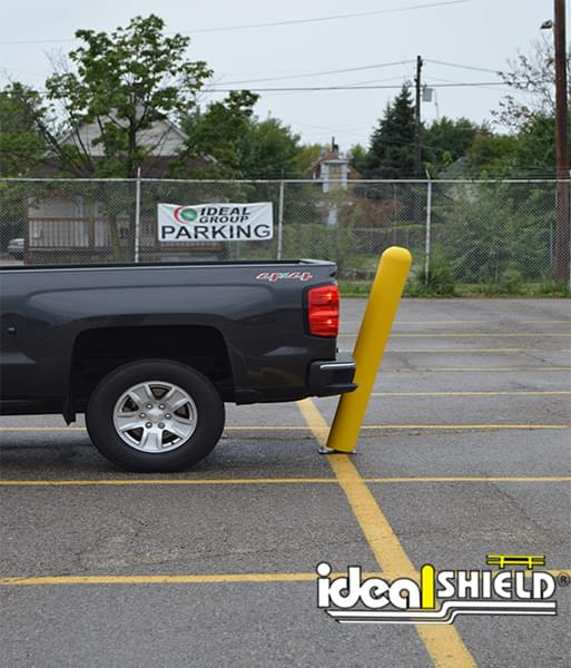Flexpost Bollard will flex upon vehicle impact