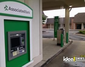 Bank ATM Drive Thru Green
