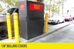 "Banking - 1/8"" Bollard Covers"