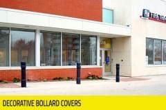 Banking - Decorative Bollard Covers