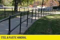 Banking - Steel & Plastic Handrail