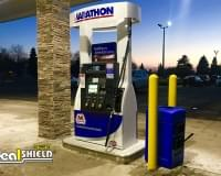"Convenience Store / Gas Station / Car Wash - 1/8"" Bollard Covers"