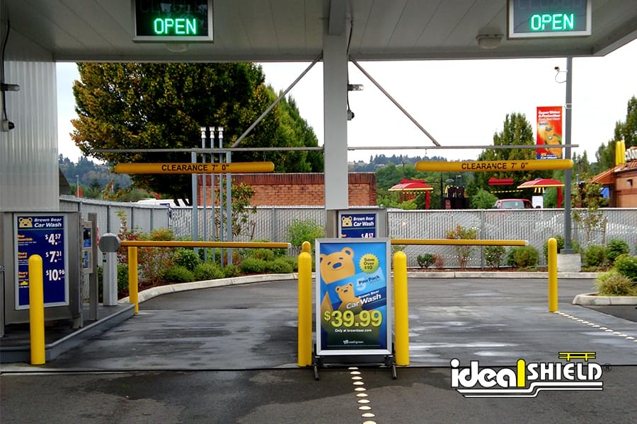 Gas Station With Drive Thru Car Wash >> Industry Leading Products - Photo Gallery | Ideal Shield