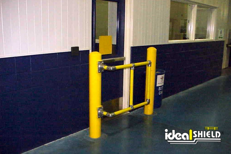Ideal Shield's Custom Handrail used for door entrance