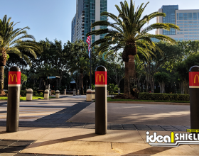 Ideal Shield's Bollard Covers at the 2018 McDonald's Worldwide Convention
