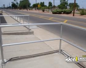 Ideal Shield Aluminum Handrail - AZ
