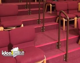 Aluminum Handrail In Theater Seating