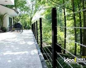 Cable Handrail Outdoor Walkway