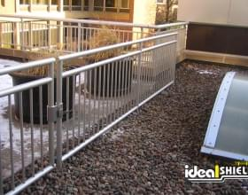 Aluminum Handrail with Gate