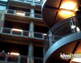 Ideal Shield Steel Handrail Staircase