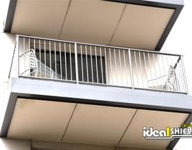 Ideal Shield Steel Handrail Balcony Railing