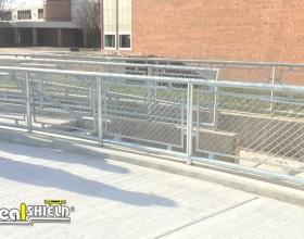 Steel Handrail middle School