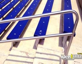 Steel Handrail for Stadium Stairs