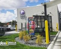 "Fast Food - 1/4"" Bollard Covers"