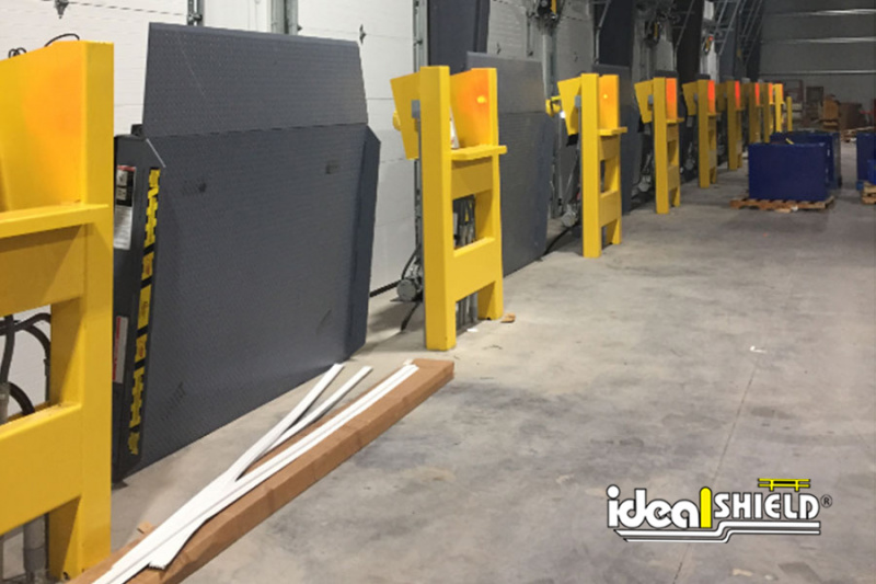 Line of Ideal Shield's Gear Box Stanchion for Vertical Lifts