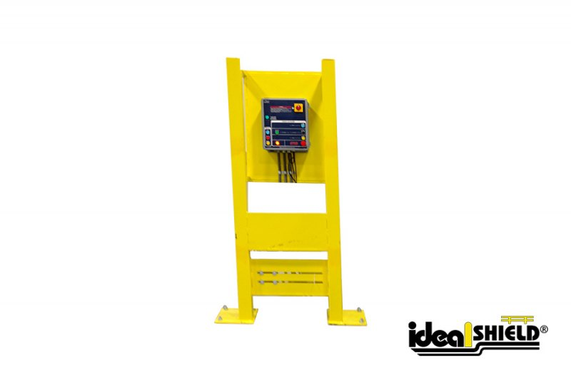Ideal Shield's In-Plant Guarding - Vertical Stanchion