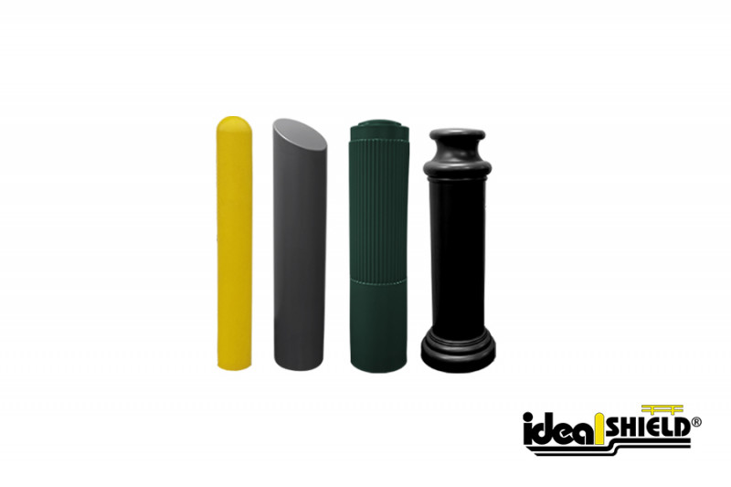 Ideal Shield's K12 Crash Bollard Covers