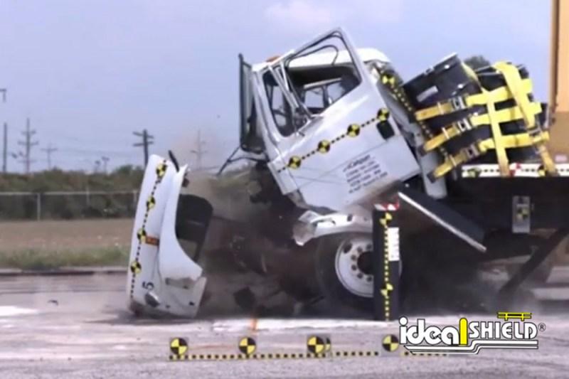 K12 Bollard Crash Test Result