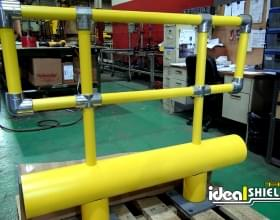 Custom Guardrail System with Handrail