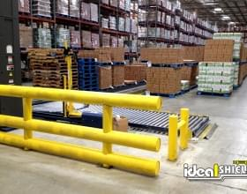 Warehouse Custom Guardrail System