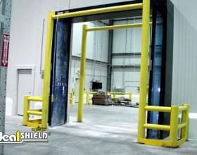 Goal Post Warehouse Doorway Protection