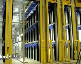 Goal Post Storage Room Warehouse Door Protection