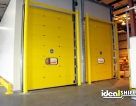 Goal Post Refrigerator Freezer Warehouse Door Protection