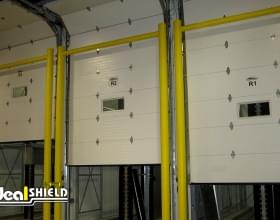 Goal Post Dock Door Protection Against Forklifts