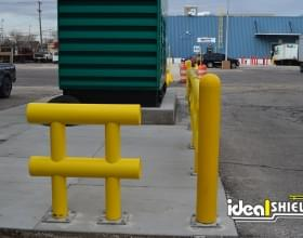 Bollard and Guardrail 3