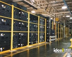 Guard Rail Warehouse Storage Protection